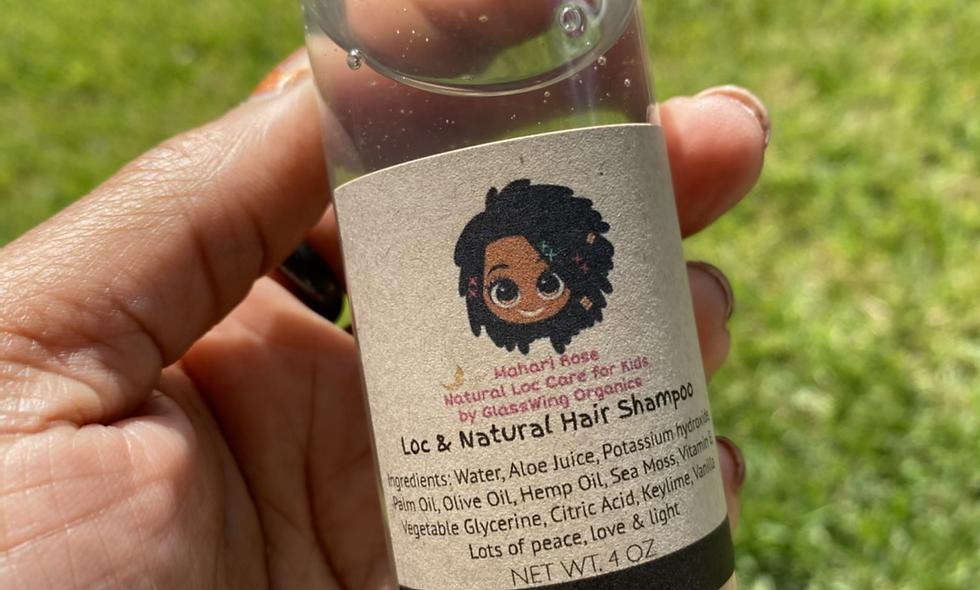 Loc & Natural Hair Shampoo for Kids 4oz