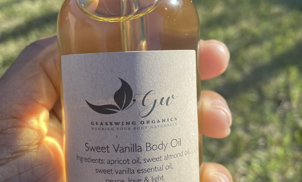 Sweet Vanilla Body Oil