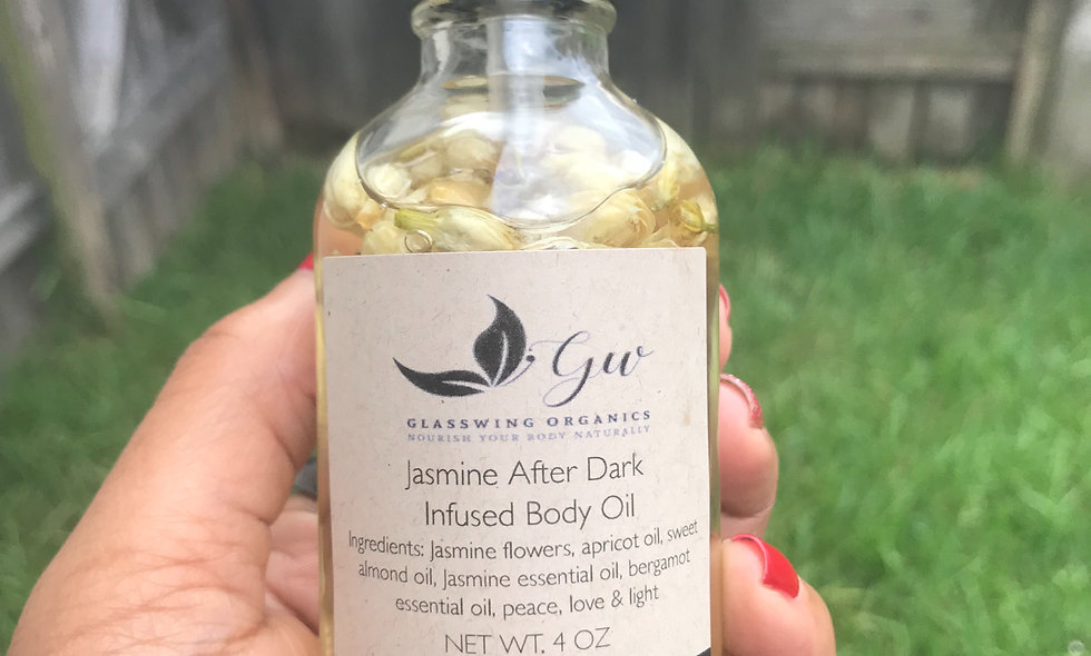 Jasmine After Dark Infused Body oil