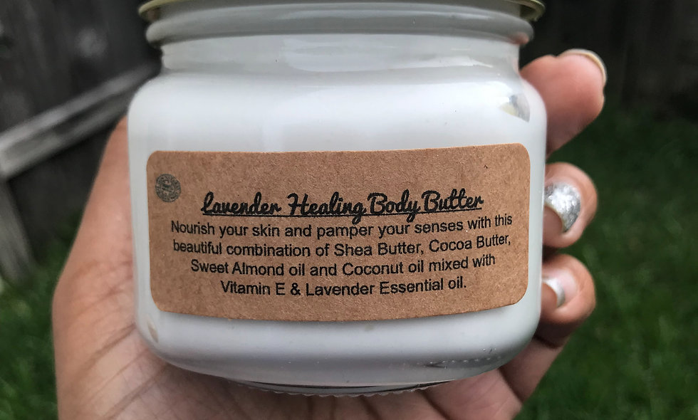Lavender Healing Body Butter 8oz