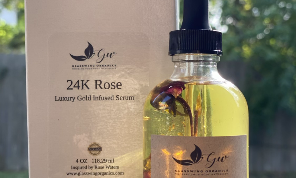 24K Rose | Luxury Gold Infused Serum 4oz