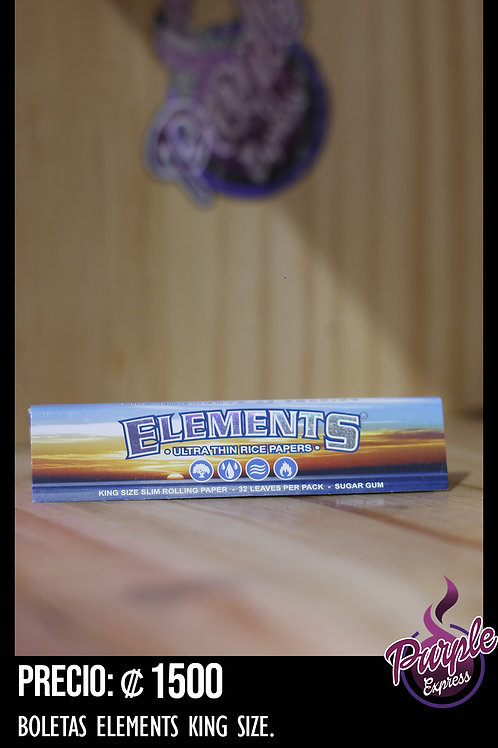 Elements Rolling Paper KING SIZE