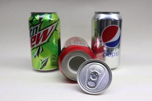 Contenedores de refresco lata
