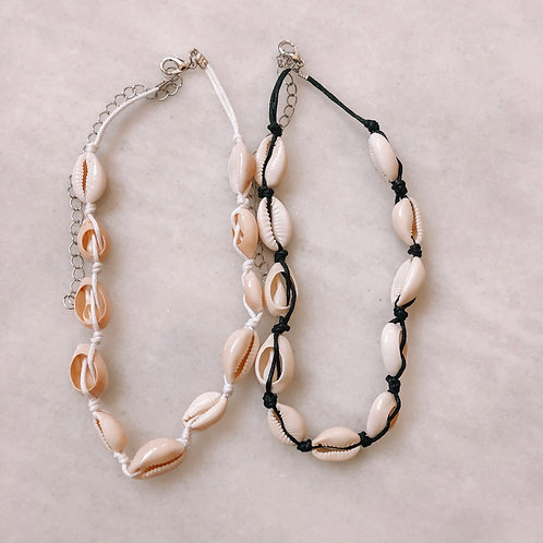 Cowrie All Around Necklace