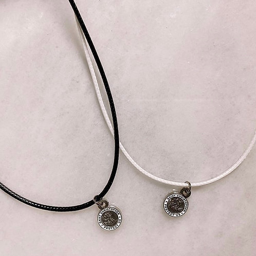 St. Christopher Cord Necklace
