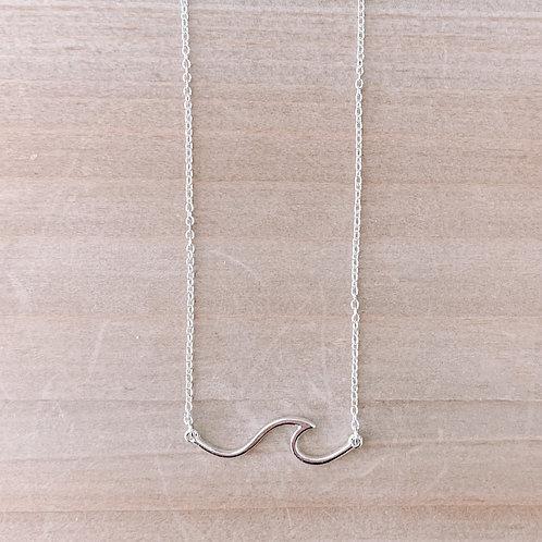 Wave Bar Necklace