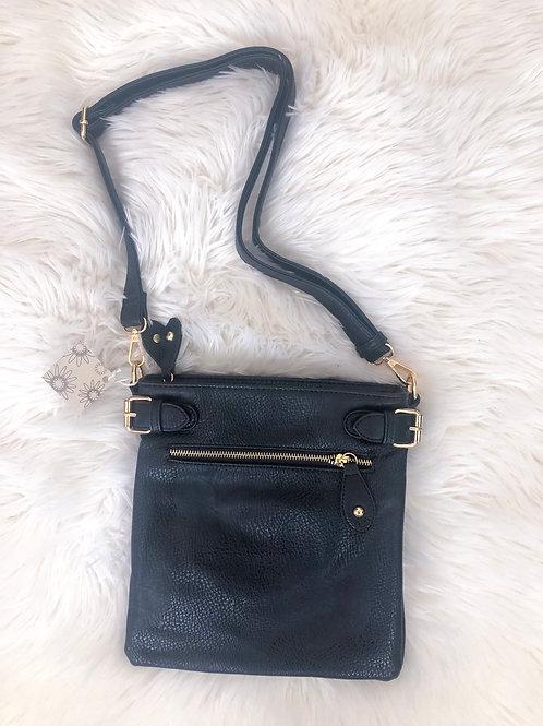 Single Zip Medium Crossbody Bag