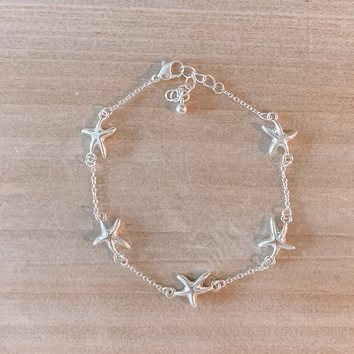 Multi Starfish Anklet