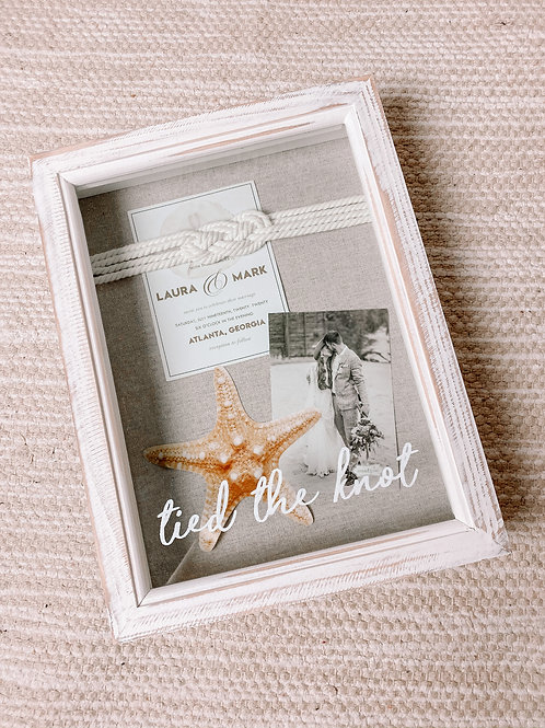 Tied The Knot Shadow Box