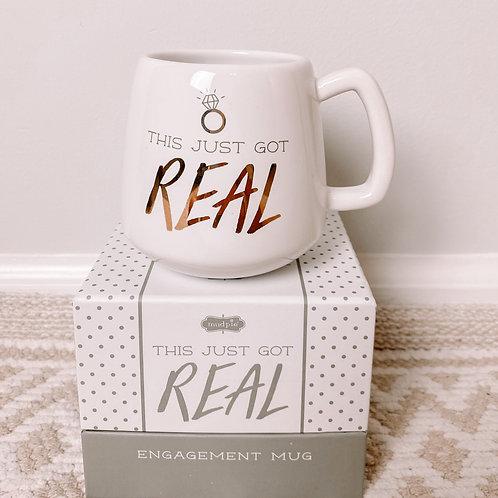Boxed Engagement Mug