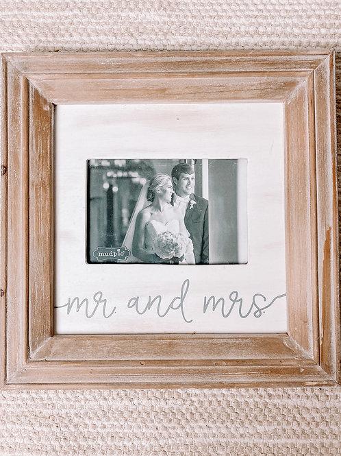 Mr & Mrs Medium Frame