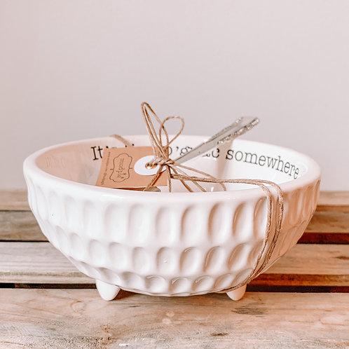 Guacamole Bowl & Spoon Set
