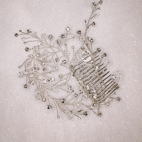 Delicate Crystal Hair Comb