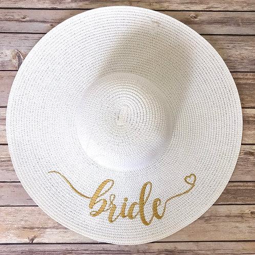 Bride Flop Hat