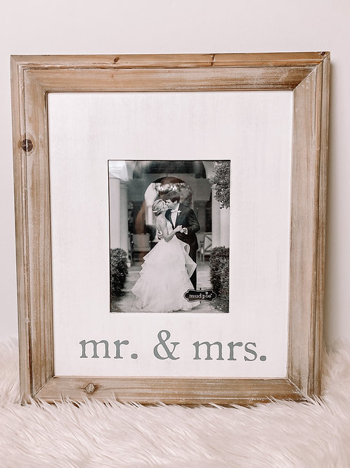 XLarge Mr & Mrs Frame