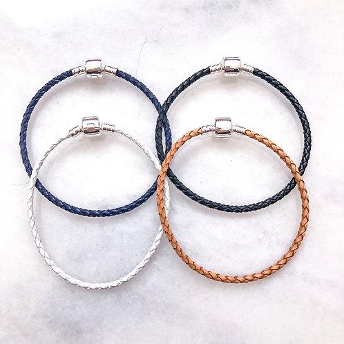 Braided Snap Bracelets