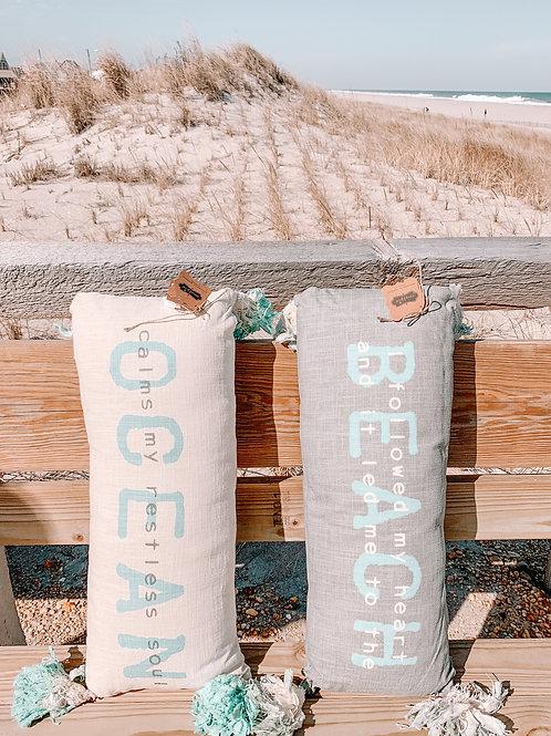 Beachy Throw Pillows