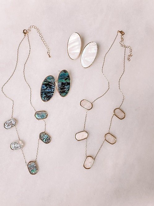 Abalone Jewelry Set