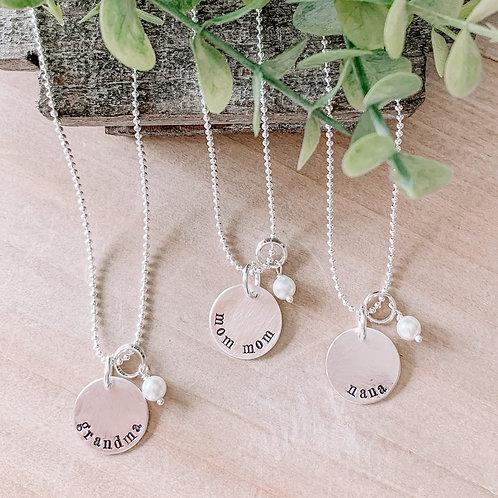 Grandma Pre Made Necklaces