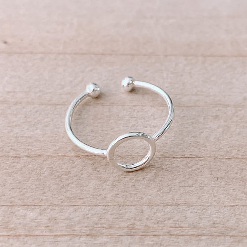 Open Circle Toe Ring