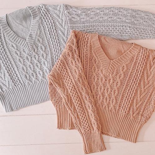 V-Neck Detailed Sweater