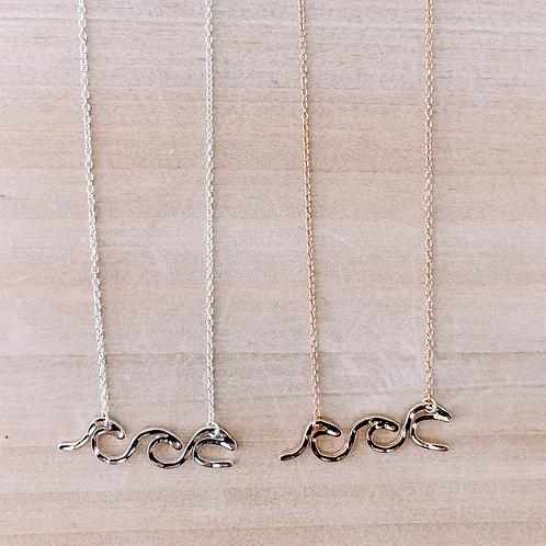 Triple Wave Necklace