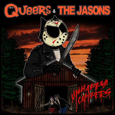 The Queers / The Jasons - Unhappy Campers (Vinyl/CD)