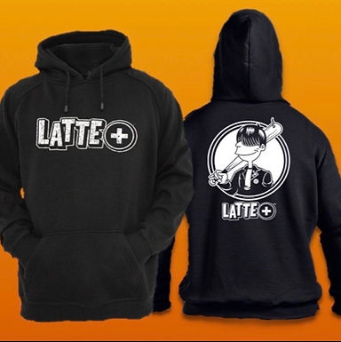 LATTE+ Hoodie (Double Sided)