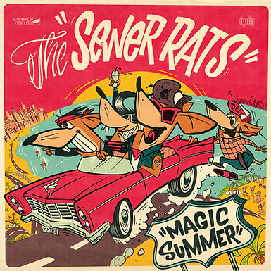 The Sewer Rats-Magic Summer