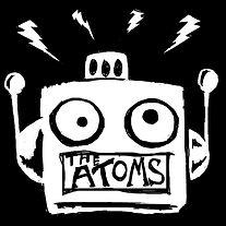 THE ATOMS PUNK ROCK BAND LOGO