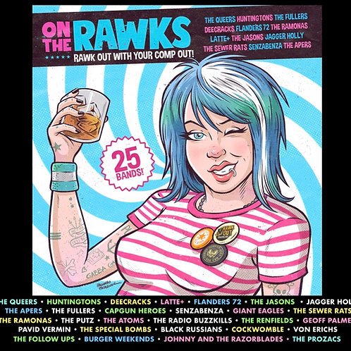PRORAWK RECORDS  'ON THE RAWKS' 2021 (COMP)