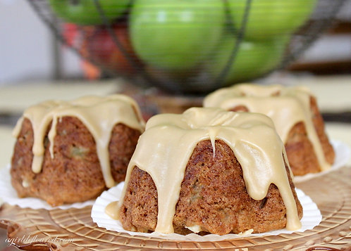 Caramel Apple Cakes