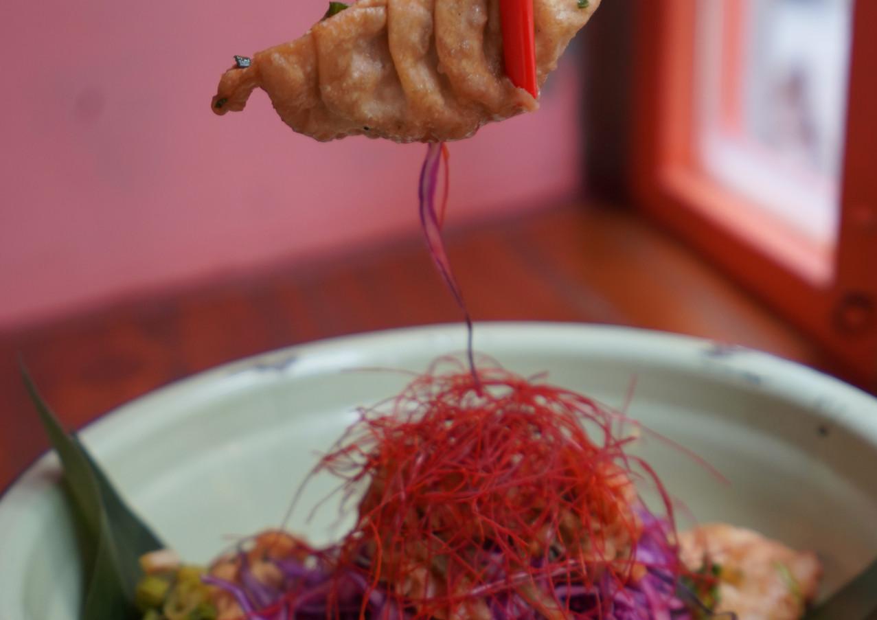 Fried Gyoza Holy Eats Hong Kong