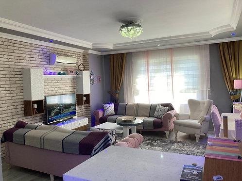 2+1 Apartment with pool in Mahmutlar, Alanya