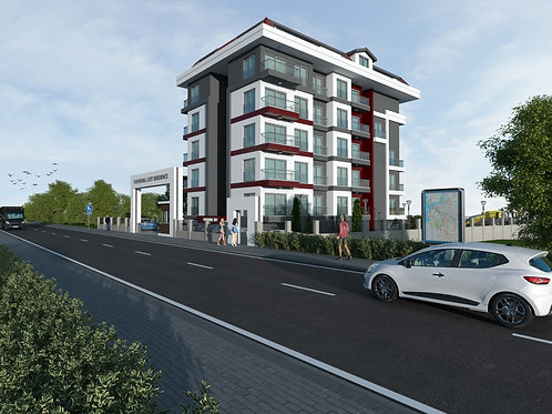 Luxury Apartments with all Activities in  Alanya/Kestel