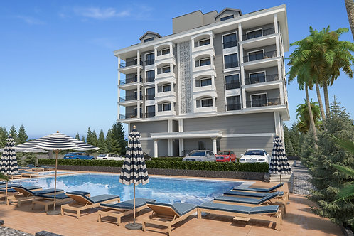 Luxury Apartments with all Activities in  Alanya/Kargıcak
