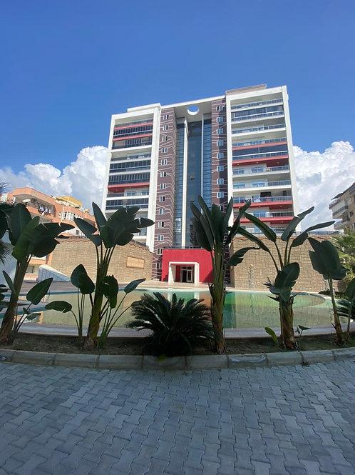 3+1 Apartment with pool in Mahmutlar, Alanya