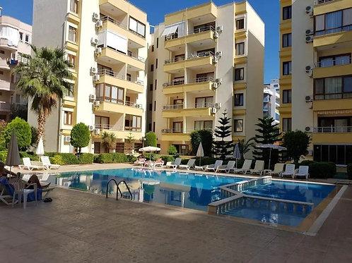 1+1 Apartments with all Activities in  Mahmutlar, Alanya