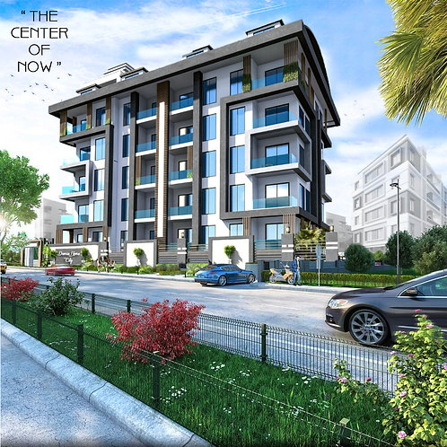 Luxury Apartments with all Activities in  AlanyaCenter