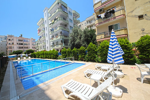 1+1 Apartment with all Activities in  Mahmutlar, Alanya