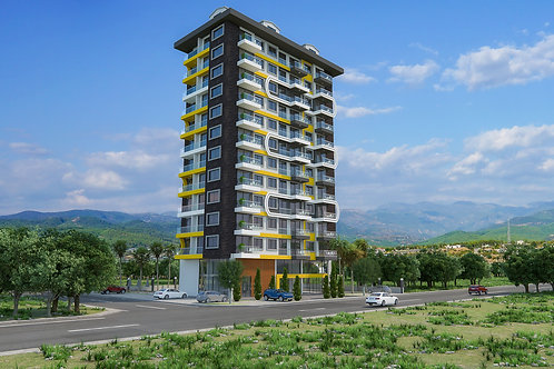 Luxury Apartments with all Activities in  Alanya/Mahmutlar