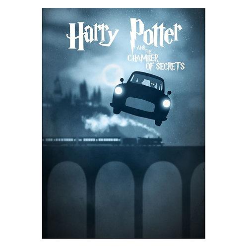 Canvas print Harry Potter 10 - 75 x 50 cm