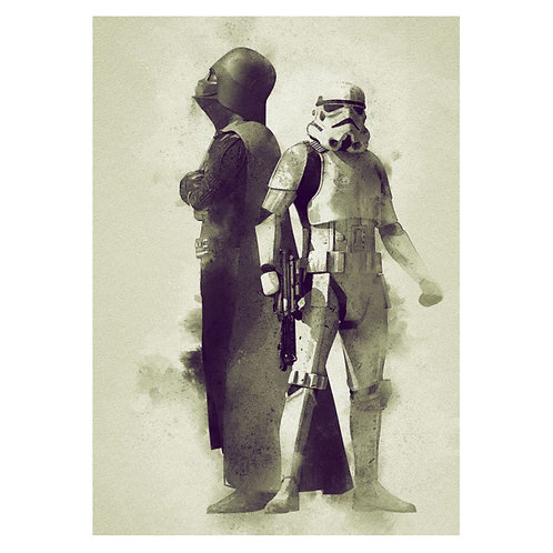 Canvas print Star Wars 29 - 75 x 50 cm