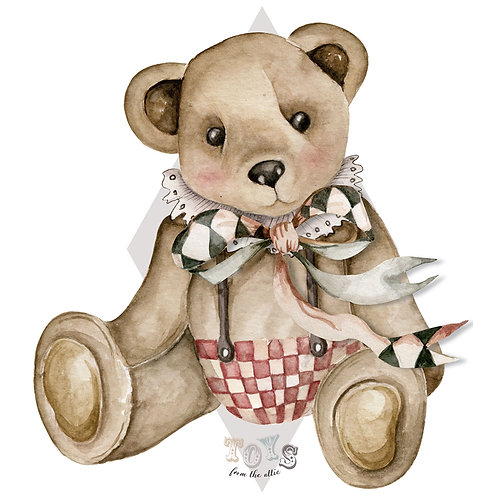 Big Theodore bear / Toys from the attic - S