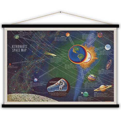 Astronauts Space map
