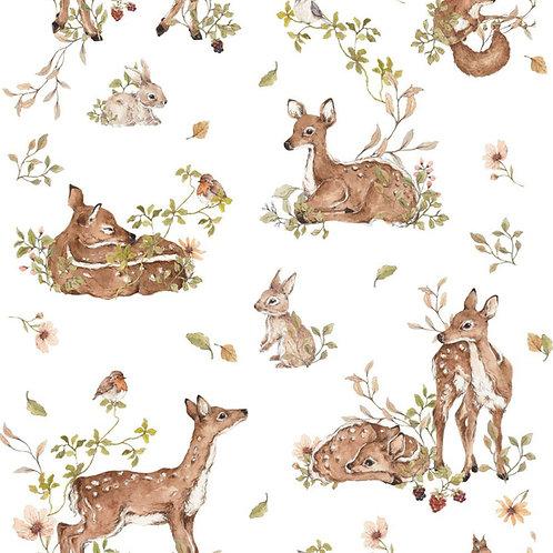 Deer Meadow Wallpaper
