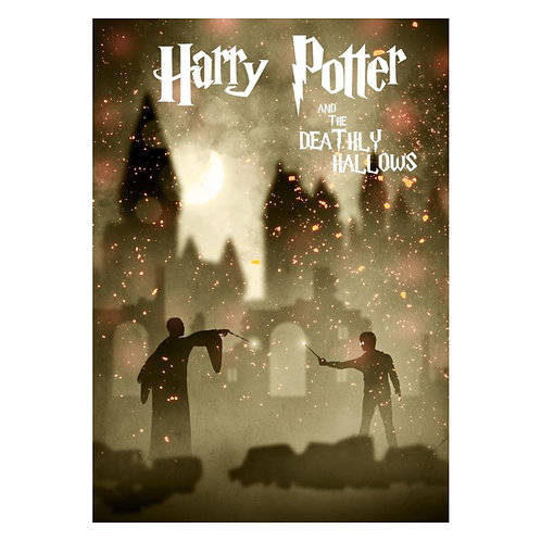 Canvas print Harry Potter 17 - 75 x 50 cm
