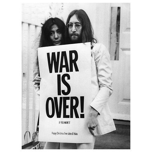 JohnLennon&Yoko-Warisover 40x60cm - fine print