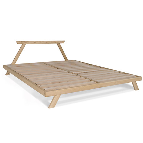 Allegro double bed 160x200 untreated