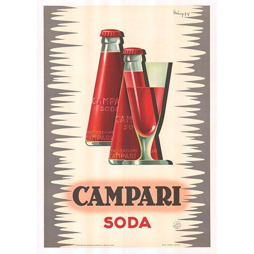 Canvas print Campari 8 - 75 x 50 cm